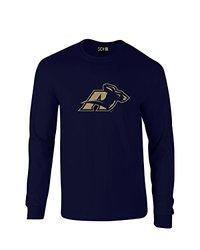 NCAA Akron Zips Mascot Foil Long Sleeve T-Shirt, XX-Large, Navy