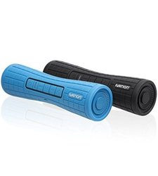 Ivation Boomer Portable Rechargeable Bluetooth Stereo Speakers (IVABTSSB)