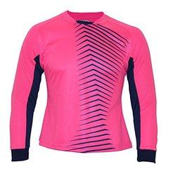 Vizari Women's Aura GK Jersey, Pink/Navy, Youth Medium