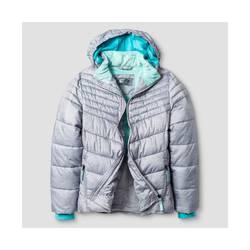 C9 Champion Girl's Puffer Jacket - Gray - Size: Medium