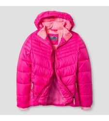 C9 Champion Girl's Puffer Jacket - Pink - Size: XL