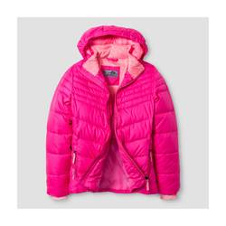C9 Champion Girl's Puffer Jacket - Pink - Size: Large