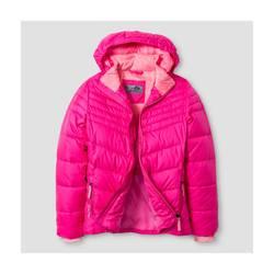 C9 Champion Girl's Puffer Jacket - Pink - Size: M