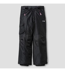 C9 Champion Girl's Snow Pants - Ebony Solid -Size: XS