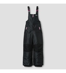 C9 Champion Girl's Snow Overall - Ebony Solid - Size: L
