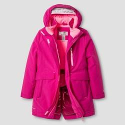 C9 Champion Girls' Heavy Weight Parka Jacket - Pink - Size: XL