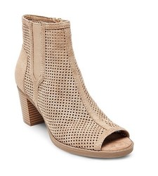 Madlov Women's Booti Carley - Taupe - Size: 9.5