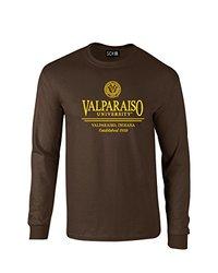 NCAA Valparaiso Crusaders Classic Seal Long Sleeve T-Shirt, X-Large, Brown