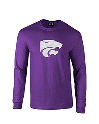 SDI NCAA Kansas State Wildcats Men's T-Shirt - Prple - Size: XXL