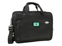 "Denco 13"" World Cup Soccer Brazil Expandable Laptop Briefcase - Black"