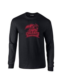 NCAA Colgate Raiders Mascot Foil Long Sleeve T-Shirt, XX-Large, Black
