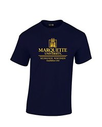 NCAA Marquette Golden Eagles Classic Seal T-Shirt, XX-Large, Navy