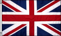 Best Flags United Kingdom Nylon EMB Outdoor Flag - Size: 3'x5'