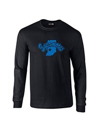 SDI NCAA Indiana State Sycamores Men's T Shirt Black - Size: S