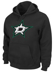 NHL Dallas Stars Men's Heat Seal Fleece Sweater, X-Large, Black