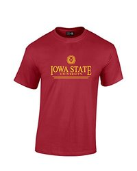 NCAA Iowa State Cyclones Classic Seal T-Shirt, Small, Cardinal