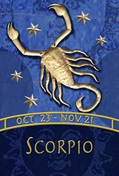 Toland Home Garden Zodiac-Scorpio Decorative USA-Produced House Flag, 28 by 40""