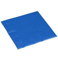 Amscan Durable Big Royal Dinner Paper Napkins Blue - Pack of 50