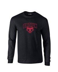 SDI Unisex NCAA Brown Bears Mascot Foil T Shirt - Black - Size: Medium