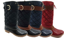 Ny Vip Women's Cold Weather Boots: Cognac/7.5