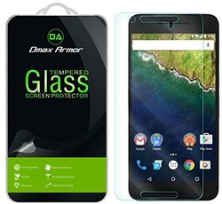 Dmax Armor 6 pc 9H Tempered Glass Screen Protector for Nexus - 2-Pack