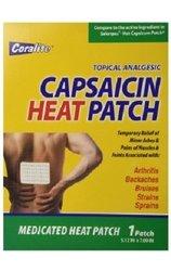 Coralite Capsaicin Hot Patch Bulk Case Of 48