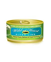 Precise Holistic Complete Salmon Tuna & Trout Cat Food 24Case - 3Oz