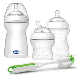 Chicco NaturalFit 3 Stage Feeding System Baby Bottle Gift Set 4