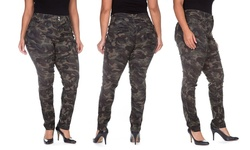 Hyperstretch Buttlifter Jeans - Camouflage - Size: 16