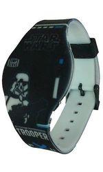 Star Wars Boys' Stormtrooper Led Watch - Black