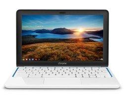 "HP Pavilion 11.6"" Laptop 2GB 16GB 1.7GHz Chrome - White/Blue (F2J07AA#ABA)"