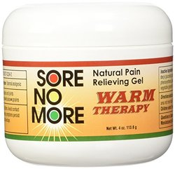 Sore No More - Warm Therapy Natural Pain Relieving Gel Jar 4 oz