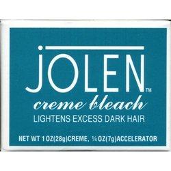Jolen Cr me Bleach, Lightens Excess Dark Hair, 1 oz (Pack of 2)