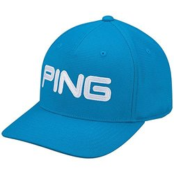 PING Classic Structured Cap, Lagoon/White, Small/Medium