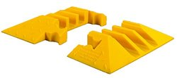 Checkers Jacket End Boot for YJ5-125 Male/Female - Yellow - Pair
