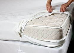 "Sleep Defense System Waterproof/BedBug Proof Mattress Encasement 60""x80"" Q"