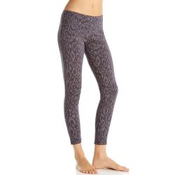 Marika Women's Glacier Jacquard Workout Leggings - Iron - Size: XS