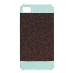 Unlimited Cellular Hybrid Case for Apple iPhone 4/4S - Black/Green
