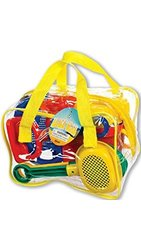 Toysmith Kids' Sand Play Bucket & Tool Set - 11 Count - Assorted