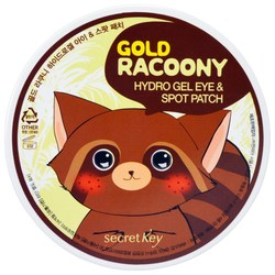 Secret Key Gold Racoony Hydro Gel Eye & Spot Patch 90 pcs - 0.35lbs