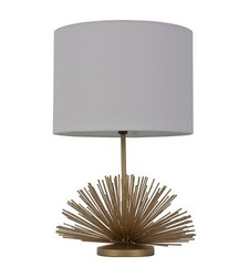Threshold Urchin Figural Accent Lamp - Gold