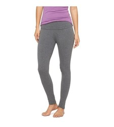 Mossimo Women's Yoga Leggings - Oxford Solid Ankle - Size: Large