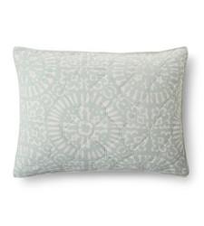 Threshold Tile Medallion Pillow Quilt Sham - Multi - Size: King