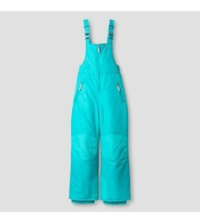 C9 Champion Girls' Snow Overall - Aqua - Size: Medium