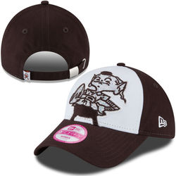 NFL Cleveland Browns Women's Hat - White/Brown