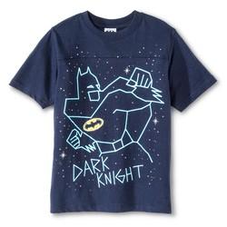 Boy's Batman Dark Knight Tee - Navy - Size: Medium