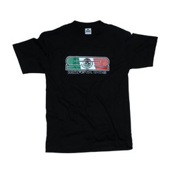 Skunk2 Unisex T-Shirt with 'Mofeta Dos' Logo - Black -Size: Small