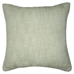 "Threshold 18"" x 18"" Embroidery Pillow - Light Off-white"