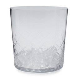 Sur La Table Diamond-Cut Ice Bucket - Clear