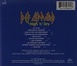 High 'N' Dry By Def Leppard (Audio CD)